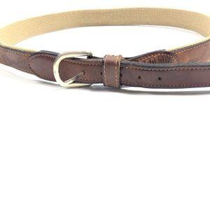 FINAL SALE  Zep Pro 34 Leather Belt Brown Fishing